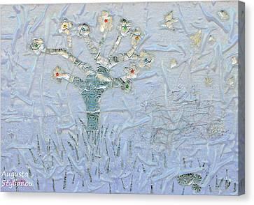 White World Canvas Print by Augusta Stylianou