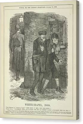 Whitechapel 1888 Canvas Print by British Library