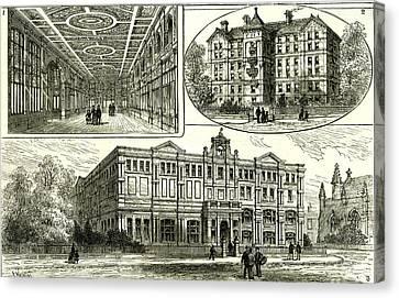 Whitechapel London U.k Canvas Print