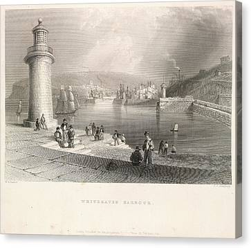 Whitehaven Harbour Canvas Print by British Library