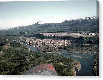 Whitehorse In 1955 Canvas Print by George Cousins