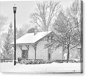 Whitehouse Train Station Canvas Print by Jack Schultz