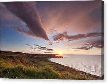 Whitepark Bay Canvas Print by Rod McLean