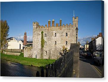 Whites Castle,bridge Over The River Canvas Print by Panoramic Images