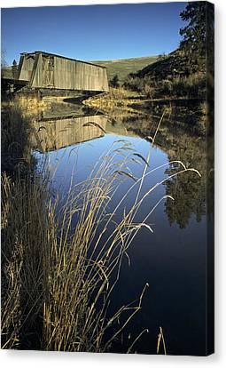 Whitman County Bridge Canvas Print