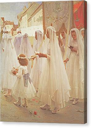 Pentecost Canvas Print - Whitsunday, 1888 by Edouard Victor Durand