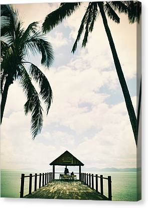 Whitsunday Island Canvas Print by Sherri Abell