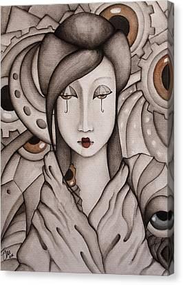 Who Am I Canvas Print by Simona  Mereu