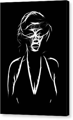 Who S That Girl Canvas Print by Steve K