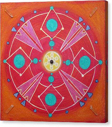 Wholeness Canvas Print by Janelle Schneider