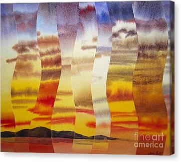Why I Love You Canvas Print by Jeni Bate