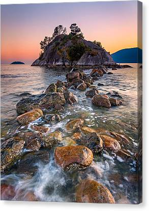 Whyte Islet Canvas Print by Alexis Birkill
