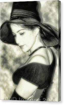 Wiccan Lady Canvas Print