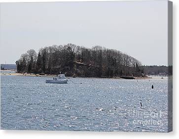 Wicket Island - Onset Massachusetts Canvas Print