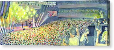 Widespread Panic At The Hard Rock Vegas Canvas Print