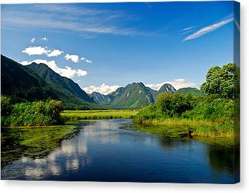Widgeon Valley Canvas Print