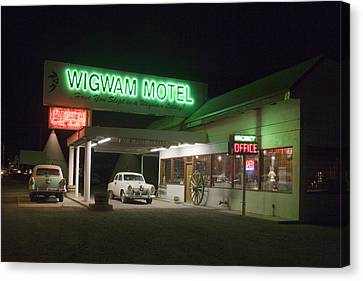 Wigwam Motel In Holbrook Canvas Print