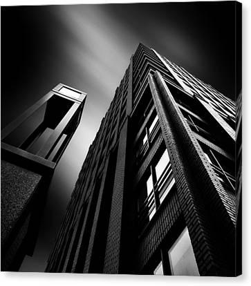 Light And Dark Canvas Print - Wijnhaeve by Dave Bowman