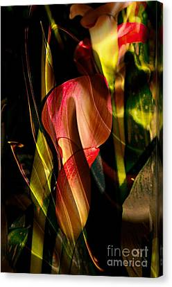 Wild Abstract Canvas Print by Kathleen Struckle