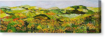 Wild And Robust Canvas Print by Allan P Friedlander