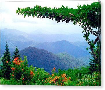 Wild Azalea View Canvas Print