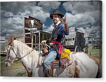 Wild Bill Canvas Print by Randall Nyhof