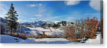 Wild Cat Ranch - Snowmass Canvas Print
