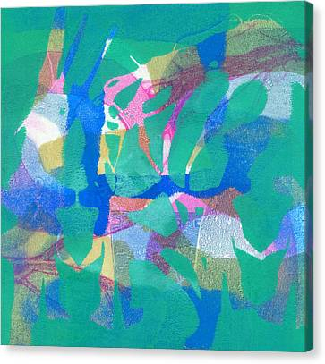Wild Dance Canvas Print