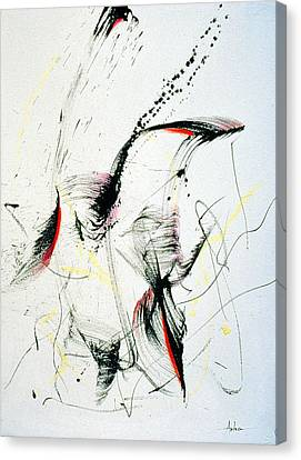 Wild Dancing Canvas Print