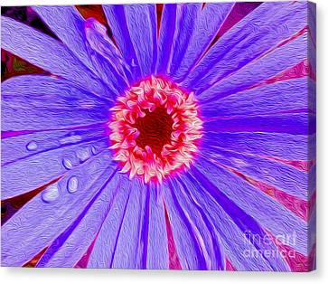 Wild Flower Close Up Canvas Print