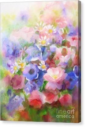Wild Flowers Canvas Print by Lutz Baar