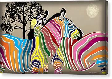 Wild Love 2 Canvas Print by Mark Ashkenazi