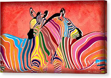 Wild Love  Canvas Print by Mark Ashkenazi