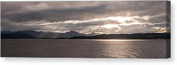 Canvas Print featuring the photograph Wild Nature Of Scotland by Sergey Simanovsky