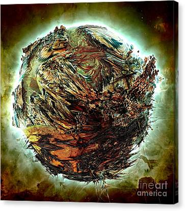 Wild Planet Canvas Print by Bernard MICHEL