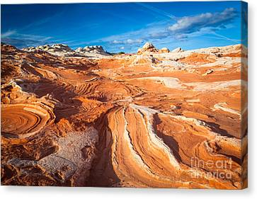 Wild Sandstone Landscape Canvas Print by Inge Johnsson