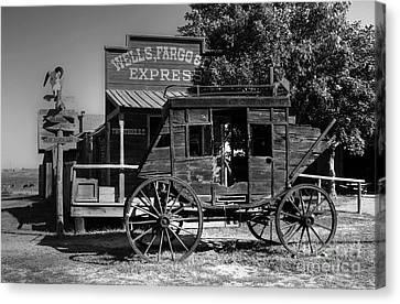 Wild West Stagecoach Canvas Print