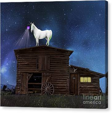 Wild Wild West Canvas Print by Juli Scalzi