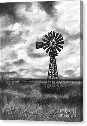 Wild Wind And Sunshine Canvas Print