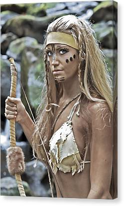 Wild Woman 1 Canvas Print by Don Ewing