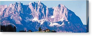 Wilder Kaiser Tirol Austria Canvas Print by Panoramic Images