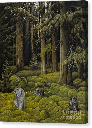 Wilderness Canvas Print by Veikko Suikkanen