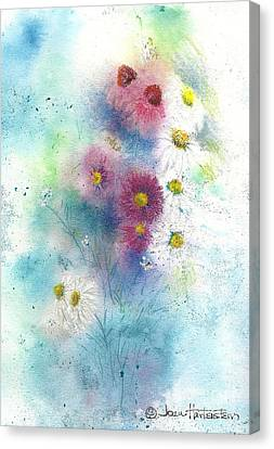 Wildflowers Canvas Print by Joan Hartenstein