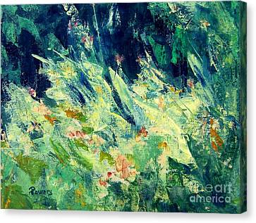 Wildflowers Canvas Print by Mary Lynne Powers