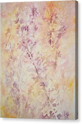 Wildflowers Three Canvas Print by Carolyn Rosenberger