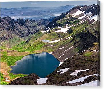 Wildhorse Lake Canvas Print