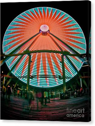 Wildwood's Giant Wheel Canvas Print