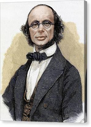 Wilhelm Eduard Weber (wittenberg, 1804 Canvas Print by Prisma Archivo