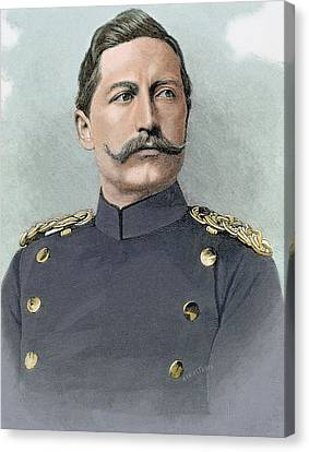 Wilhelm II Of Germany (potsdam Canvas Print by Prisma Archivo