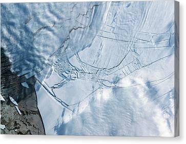 Wilkins Ice Shelf Canvas Print by Nasa